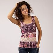 Одежда handmade. Livemaster - original item lace tank top. Handmade.