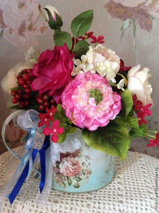 Кувшин из цветов. Кожевникова Алиса