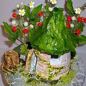 Цветы и флористика ручной работы. Ярмарка Мастеров - ручная работа Лесной домик -. Handmade.