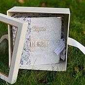 Подарки ручной работы. Ярмарка Мастеров - ручная работа Свадебный фотоальбом. Handmade.