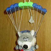 Куклы и игрушки ручной работы. Ярмарка Мастеров - ручная работа Волчок с парашютом. Handmade.
