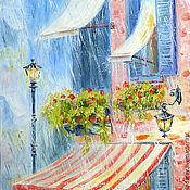 """Картины и панно ручной работы. Ярмарка Мастеров - ручная работа картина """"Теплый дождь"""". Handmade."""