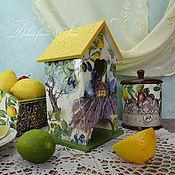 """Для дома и интерьера ручной работы. Ярмарка Мастеров - ручная работа чайный домик """"Прованс и Марокко"""". Handmade."""