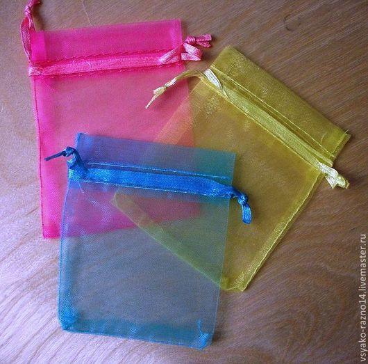 Упаковка ручной работы. Ярмарка Мастеров - ручная работа. Купить Мешочки из органзы. Handmade. Подарочная упаковка, упаковка, упаковка подарочная