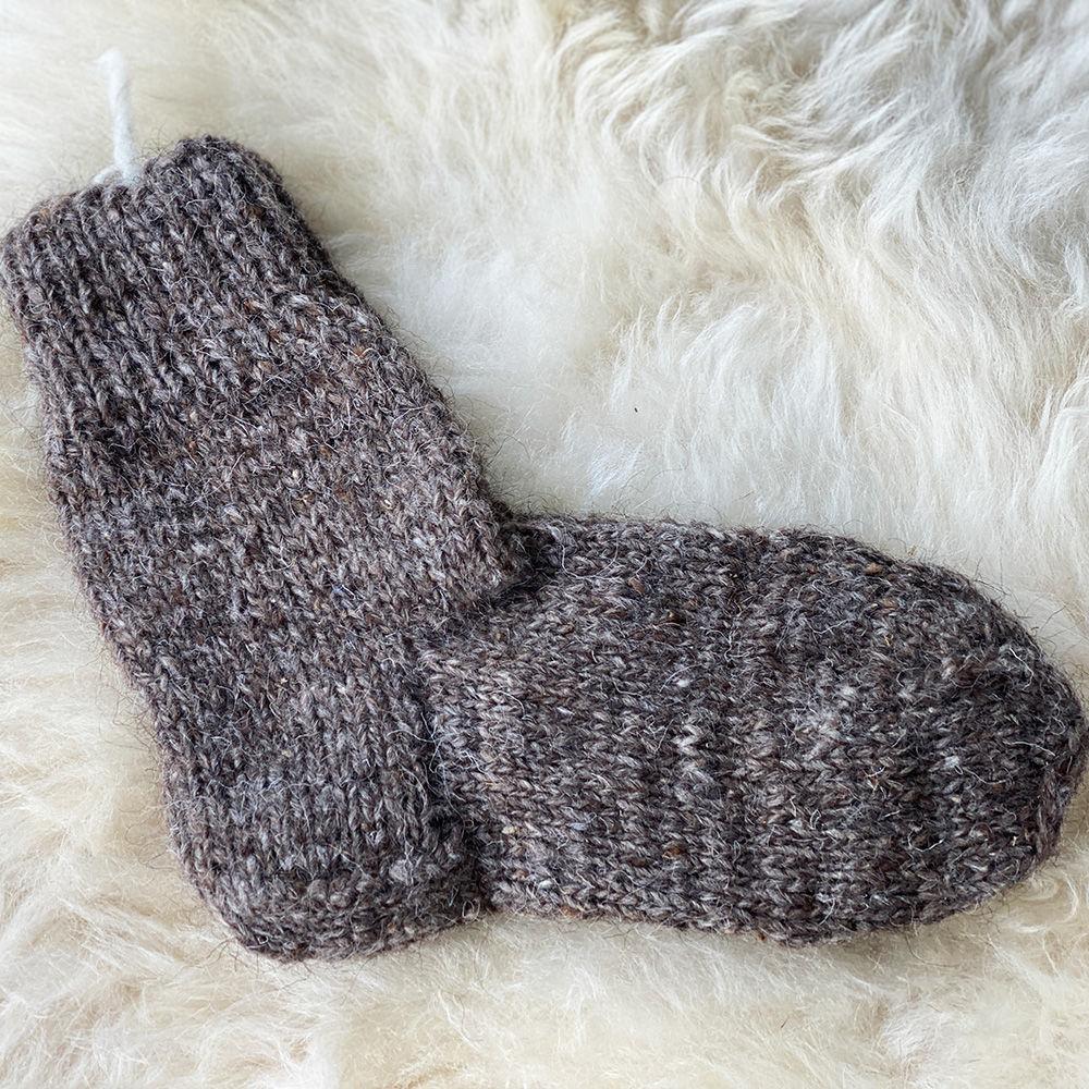 Шерстяные носки серые, Носки, Нальчик,  Фото №1