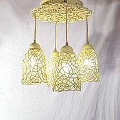 handmade. Livemaster - original item Copy of Copy of Space Ceiling Lamp. Handmade.