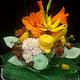 Цветы ручной работы. Ярмарка Мастеров - ручная работа. Купить Букет в школу. Handmade. Разноцветный, цветы в школу