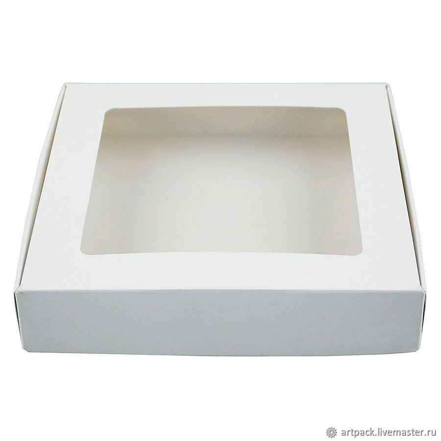 Коробка С1.0 16х16х3 см, самосборная, Коробки, Москва,  Фото №1