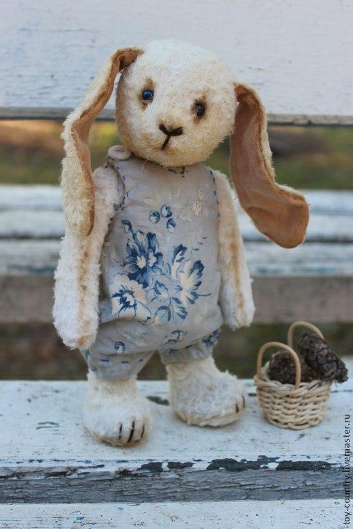 Мишки Тедди ручной работы. Ярмарка Мастеров - ручная работа. Купить Зая. Handmade. Белый, зайцы, Заяц в подарок
