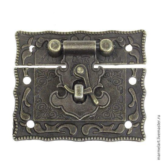 Другие виды рукоделия ручной работы. Ярмарка Мастеров - ручная работа. Купить Замок 51 х 43 мм цвет бронза. Handmade.