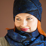 Аксессуары handmade. Livemaster - original item Hat female.felted.unisex. Handmade.