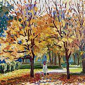Картины и панно handmade. Livemaster - original item Pictures: Oil painting Landscape