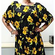 """Одежда ручной работы. Ярмарка Мастеров - ручная работа Платье """"Желтый мак"""". Handmade."""