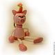 Игрушка `Свинка` на пружинке Игрушка для детей и взрослых