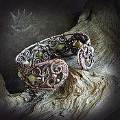 """Украшения ручной работы. Ярмарка Мастеров - ручная работа Браслет """"Сарматский лес"""". Handmade."""