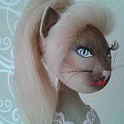 Куклы и игрушки ручной работы. Ярмарка Мастеров - ручная работа Сексуальная кошка. Handmade.