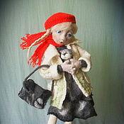 """Куклы и игрушки ручной работы. Ярмарка Мастеров - ручная работа Авторская кукла из шерсти """"Пушистое счастье"""". Handmade."""