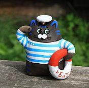 Куклы и игрушки ручной работы. Ярмарка Мастеров - ручная работа Морские котики окарины. Handmade.