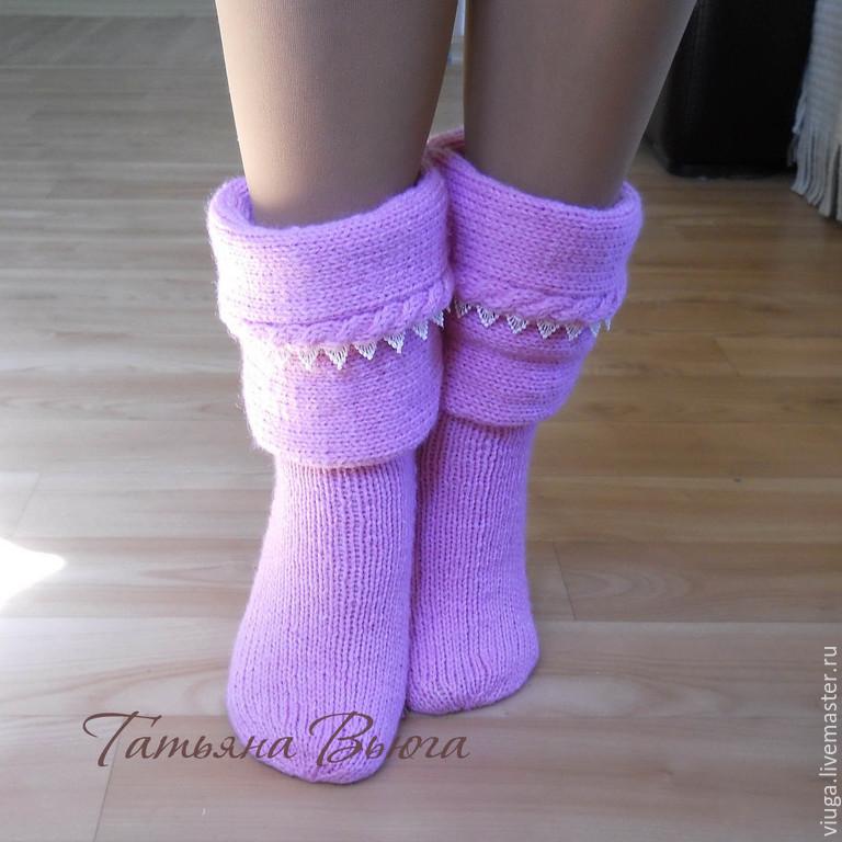 Как своими руками связать носки
