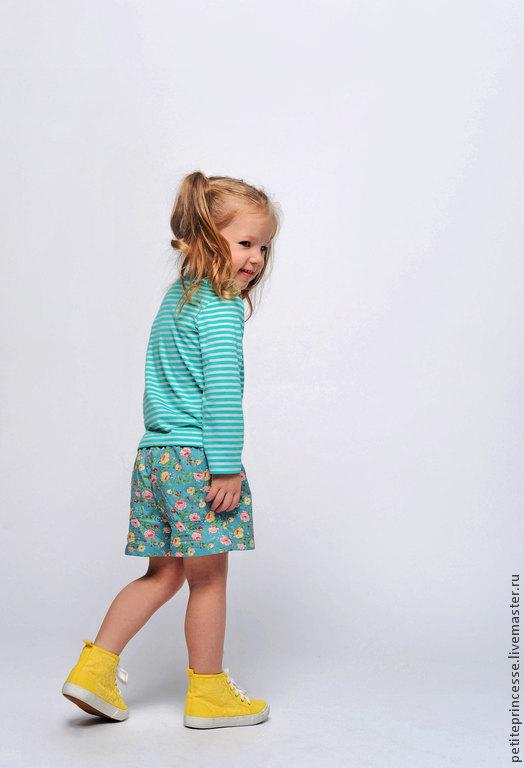 Одежда для девочек, ручной работы. Ярмарка Мастеров - ручная работа. Купить шорты детские. Handmade. Зеленый, цветочный принт