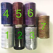 Материалы для творчества handmade. Livemaster - original item Waxed thread 1mm\ 50 m. Available numbers: 1,4,6,8. Handmade.
