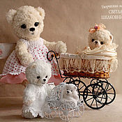 Куклы и игрушки handmade. Livemaster - original item More Teddy Bears from the series