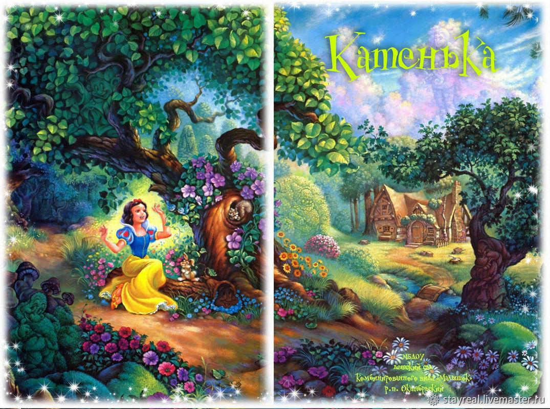 Виньетка в виде планшета детский сад (для Девочки), Фото, Ванино, Фото №1