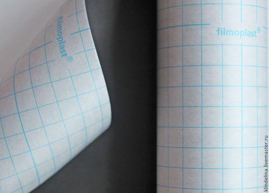 Вышивка ручной работы. Ярмарка Мастеров - ручная работа. Купить Клеевая бумага Filmoplast GUNOLD черная. Handmade. Стабилизатор