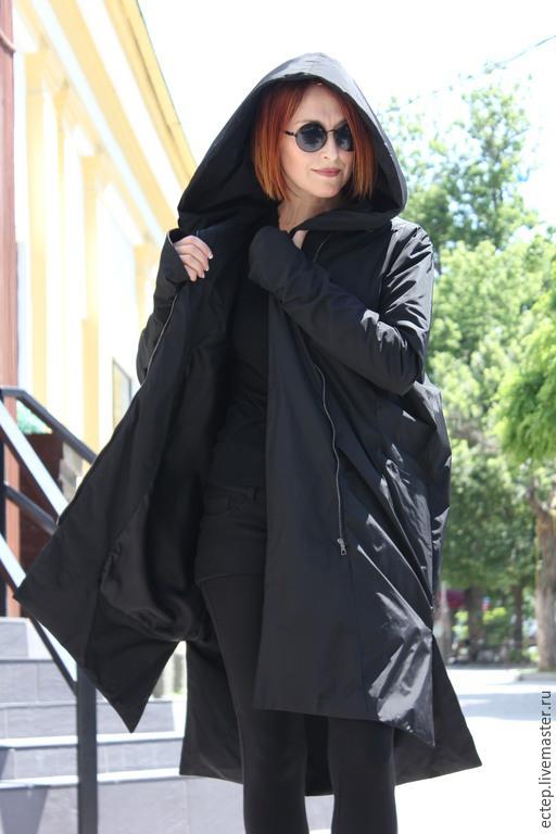282c9183cc7 Верхняя одежда ручной работы. Ярмарка Мастеров - ручная работа. Купить  Пальто из плащевки.