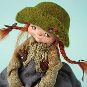 """Куклы и игрушки ручной работы. Ярмарка Мастеров - ручная работа """"Пуговка"""". Handmade."""