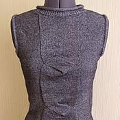 """Одежда ручной работы. Ярмарка Мастеров - ручная работа Вязаный женский жилет """"Soffstar"""". Handmade."""