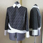 """Одежда ручной работы. Ярмарка Мастеров - ручная работа Оригинальная рубашка """"Ножницы"""". Handmade."""