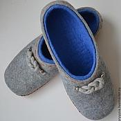 """Обувь ручной работы. Ярмарка Мастеров - ручная работа тапочки для мужчин """"морской узел"""". Handmade."""