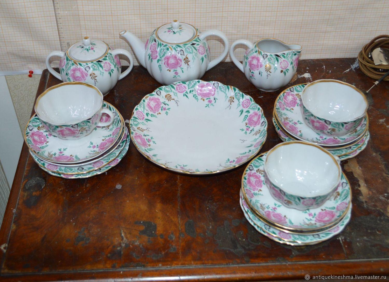 Morning tea set LFZ 20 items, Vintage sets, Kineshma,  Фото №1