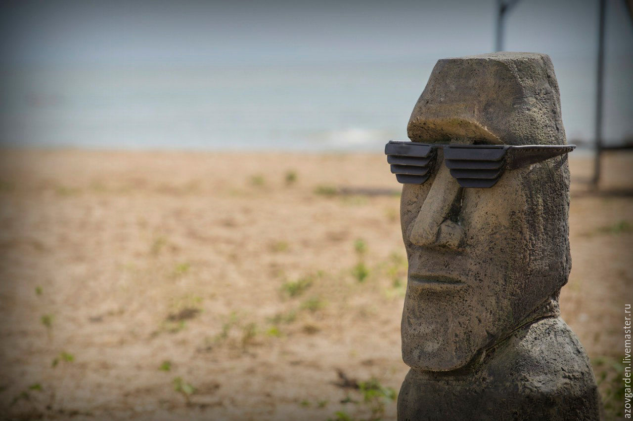 Статуя острова пасхи своими руками 47