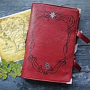 Канцелярские товары handmade. Livemaster - original item Scarlet Book West Limits. Handmade.