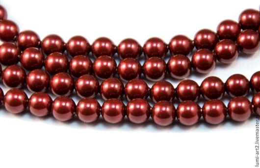 Для украшений ручной работы. Ярмарка Мастеров - ручная работа. Купить 4мм Bordeaux Жемчуг Сваровски 538 Swarovski Perl 30 шт. Handmade.