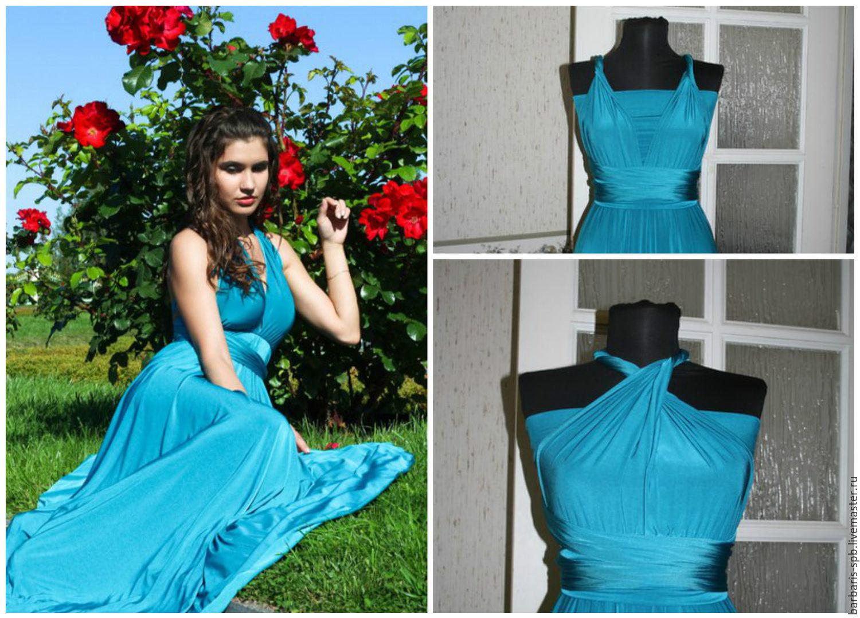 МК платье-трансформер / как сшить платье трансформер 56