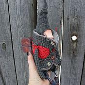 Куклы и игрушки ручной работы. Ярмарка Мастеров - ручная работа Гном и моль. Handmade.