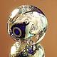 Для украшений ручной работы. Кулон-шар в стиле Пандора Завьюжило. Виктория Гусева lampwork. Интернет-магазин Ярмарка Мастеров.
