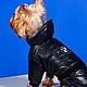 """Одежда для собак, ручной работы. Ярмарка Мастеров - ручная работа. Купить Комбинезон для собак """"Черный Бумер"""". Handmade. Черный, йорк"""