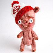 """Куклы и игрушки ручной работы. Ярмарка Мастеров - ручная работа Игрушка """"Поросенок Фанат 2"""". Handmade."""