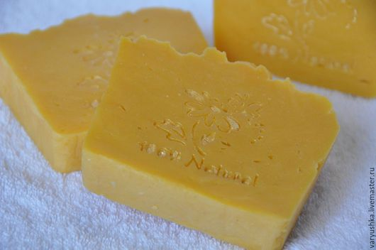 Мыло ручной работы. Ярмарка Мастеров - ручная работа. Купить «Тропический восторг» натуральное мыло ручной работы. Handmade. Оранжевый