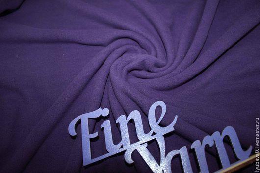 Шитье ручной работы. Ярмарка Мастеров - ручная работа. Купить Флис фиолетовый 190 гр/м.кв. Handmade. Тёмно-фиолетовый
