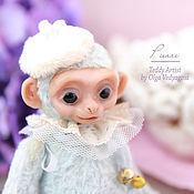 Куклы и игрушки ручной работы. Ярмарка Мастеров - ручная работа обезьянка Пьер. Handmade.