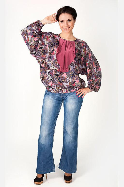 Blouses handmade. Livemaster - handmade. Buy Blouson 004.Blouson, lightweight blouson, viscose knitwear