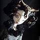 Коллекционные куклы ручной работы. Ярмарка Мастеров - ручная работа. Купить Дэниела Gothic Steampunk шарнирная кукла. Handmade. Готика