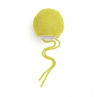 Clothing handmade. Livemaster - original item Beanie for newborn girl light green. Handmade.