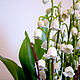 Интерьерные композиции ручной работы. Серебряные ландыши,  цветы девичьих грёз..... Landora (Galitn). Интернет-магазин Ярмарка Мастеров. Май