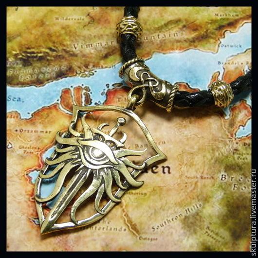 """Подарки для мужчин, ручной работы. Ярмарка Мастеров - ручная работа. Купить Кулон """"Dragon Age"""". Handmade. Кулон ведьмак"""
